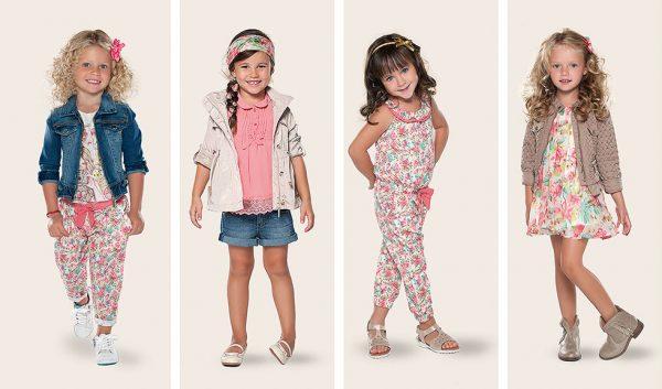 летний гардероб для девочки