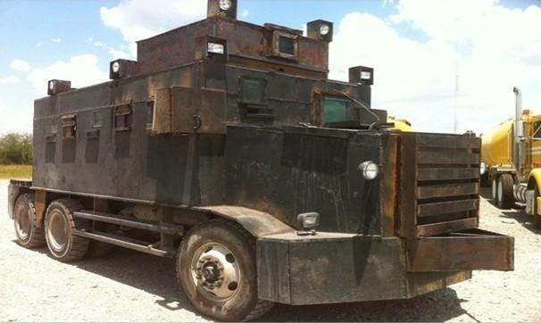 бронированные грузовики