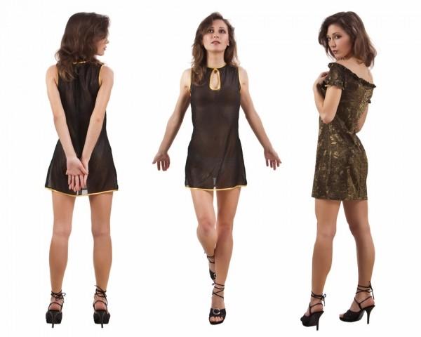 Короткие платья-туники