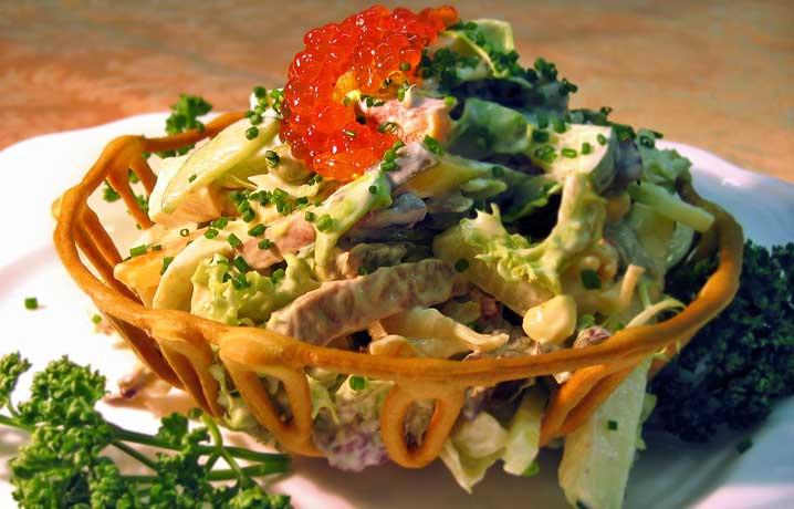 Императорские овощи с соусом