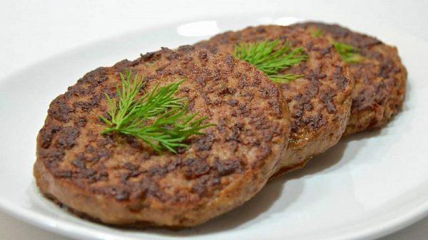 Оладьи из говядины