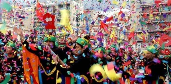 карнавал в Греции