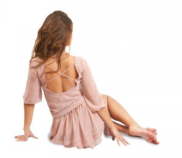 легкие платья из шифона