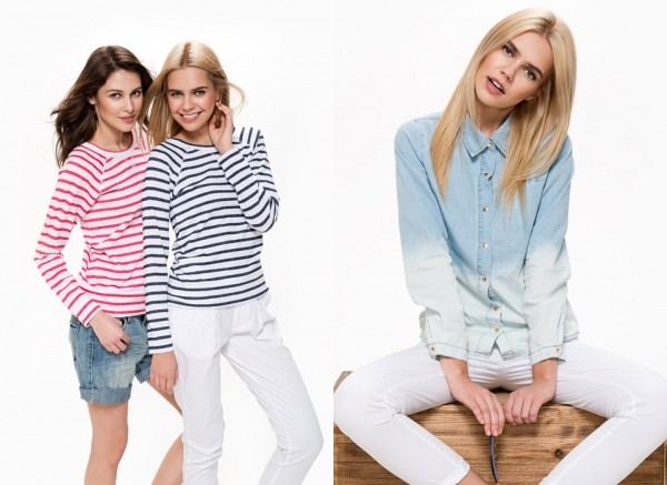 Джемперы в модную горизонтальную полоску