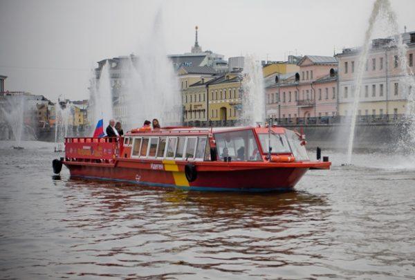 речные «автобусы» по Москве-реке