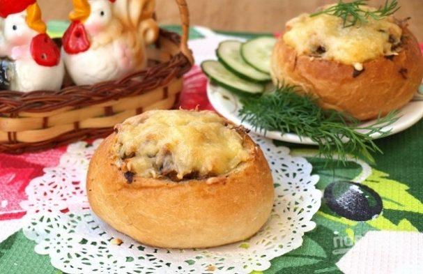 Бутерброд в булочке