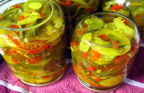 овощной салат с укропом