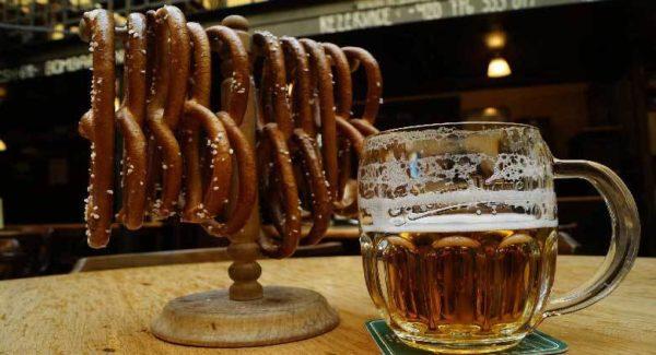 Употребление чешского пива