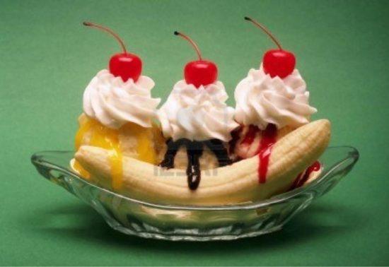 Приготовление бананового десерта